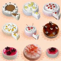 Творожно-сливочные торты