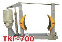 Тормоз крановый ТКГ-700 с толкателем ТЭ-200