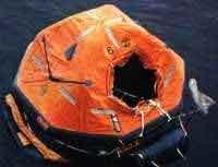 Плот спасательный морской