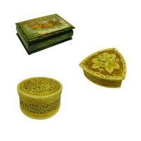 Конфеты в шкатулке «Лаковая миниатюра»