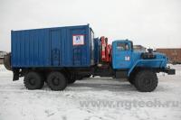 Передвижной сварочный агрегат УПРС-5 на шасси Урал-4320