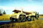 Автопоезд трубовозный электрифицированный 6019-010 на базе шасси Урал и 4442-010 на базе шасси КамАЗ