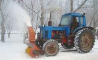 Ротационный снегоочиститель
