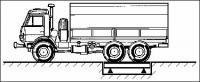 Весы автомобильные для поосного взвешивания в движении